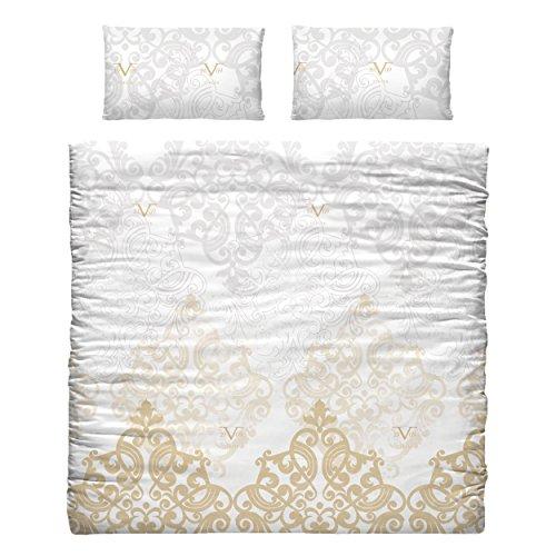 Funda nórdica y almohada Versace
