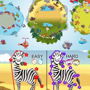2 Juegos de Puzzles y Unir Puntos para los peques (Android)