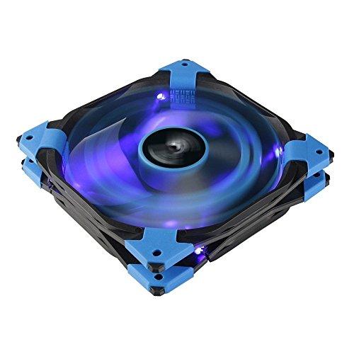 Aerocool DSFAN - Ventilador gaming para PC 14cm - LED Azul