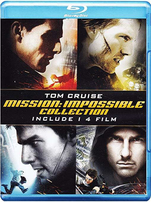 Misión Imposible 1 a 4 (Blu-ray): Versión italiana