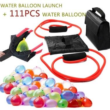 Lanzador de globos + 111 globos de agua
