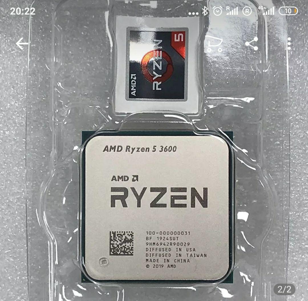 AMD Ryzen 5 3600 3,6 GHz AM4 NUEVO !!!