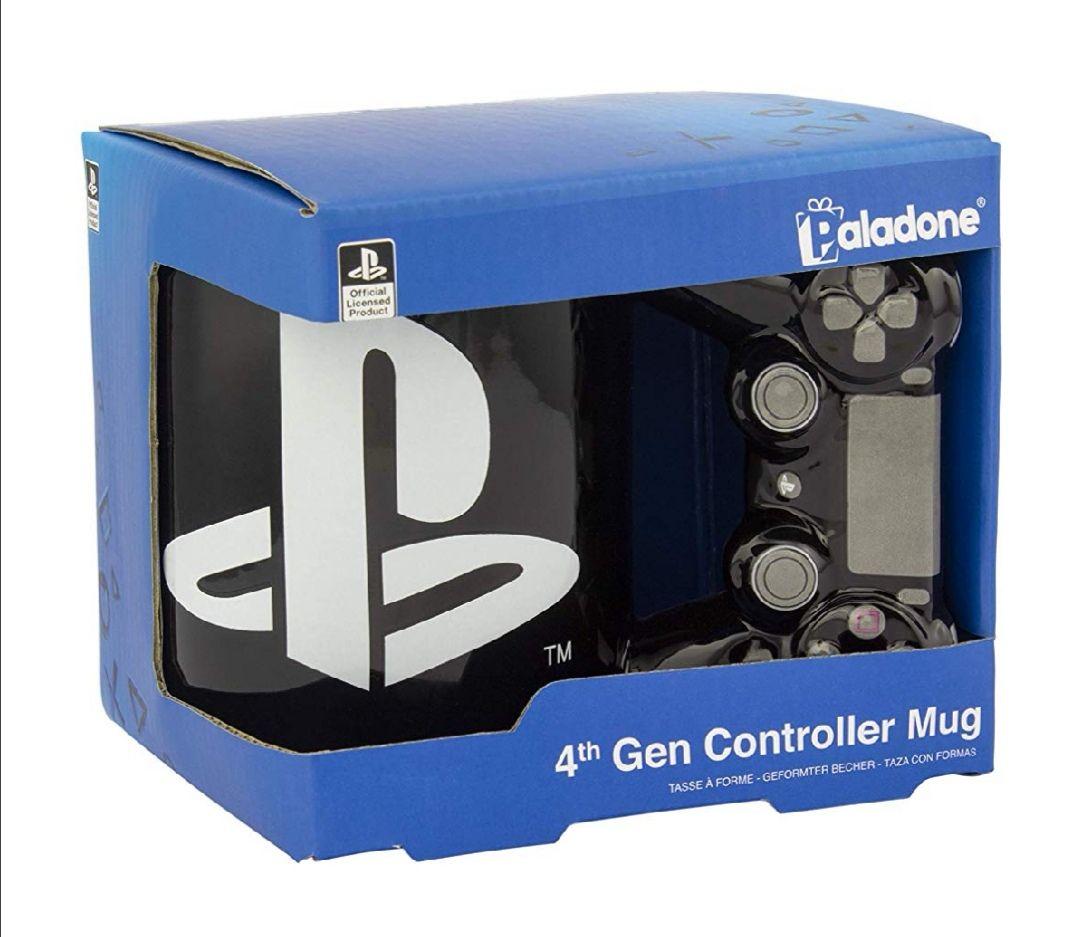 Taza de mando PlayStation 4. Producto oficial de Sony.Como decoración queda muy Chula.