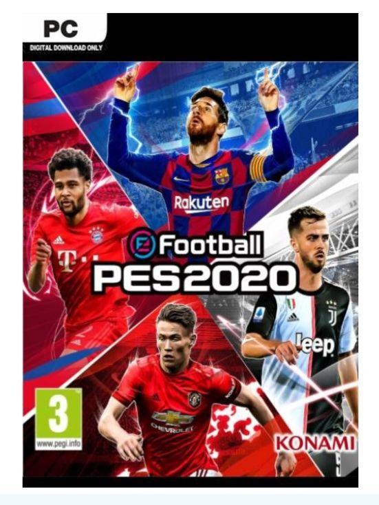 PES 2020 FOOTBALL PARA PC