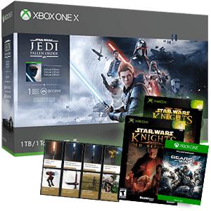 Xbox One X + Star Wars Jedi Fallen Order + 3 juegos