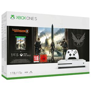 Xbox one s de 1 TB con el the division 2 !!