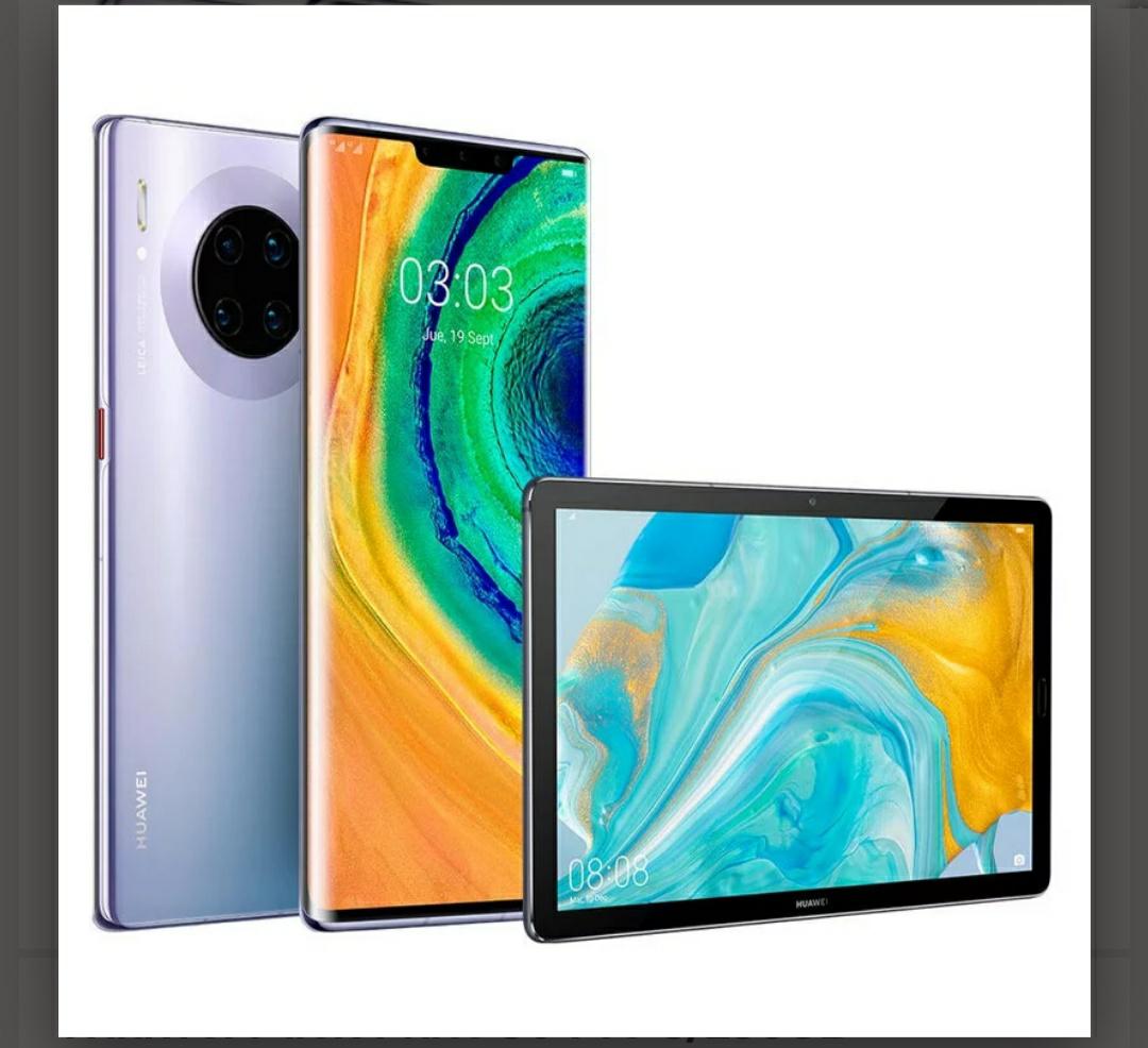 "Huawei Pack Mate 30 Pro 8/256GB + MediaPad M6 10.8"" 64GB Titanium Grey"