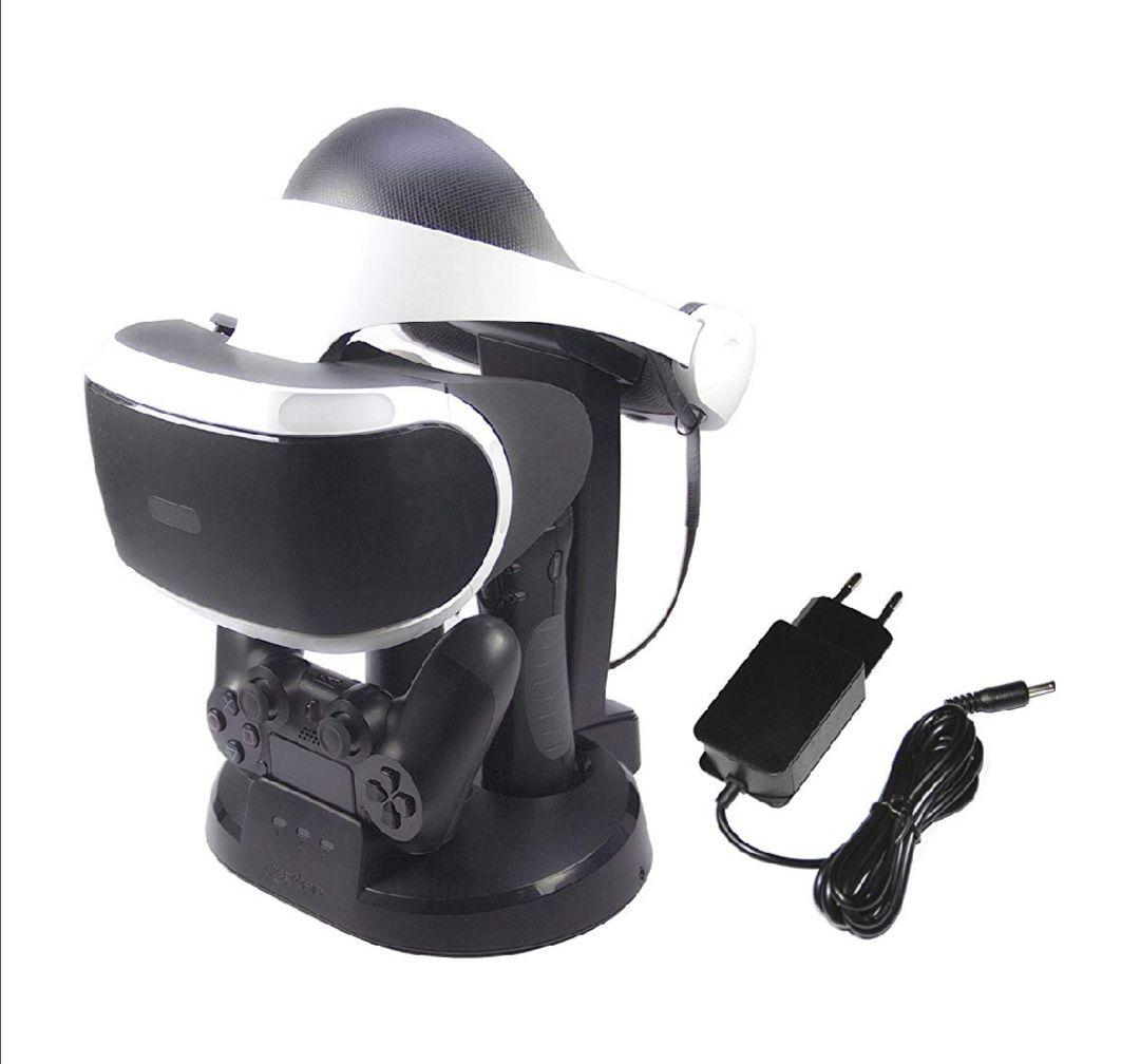 Estación de carga y expositor para PlayStation VR