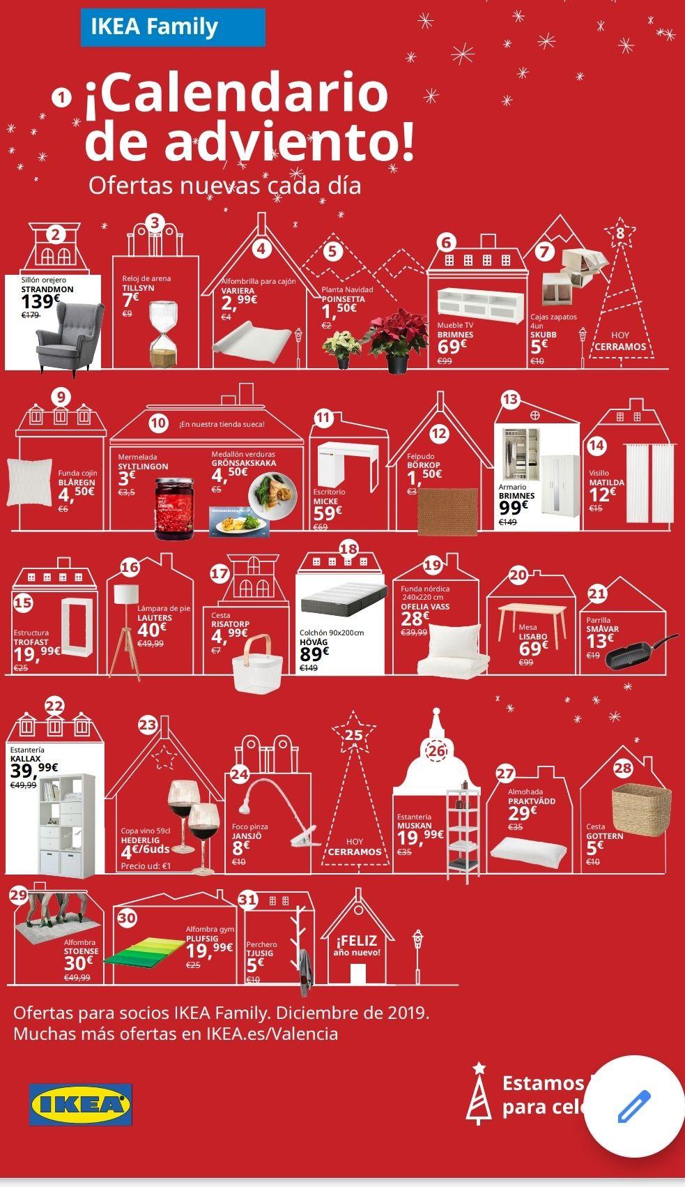 IKEA una oferta navideña por Dia (Valencia)