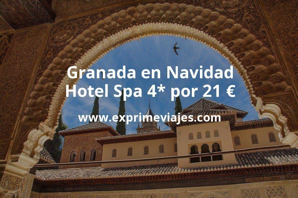 Hotel 4* en granada por navidad