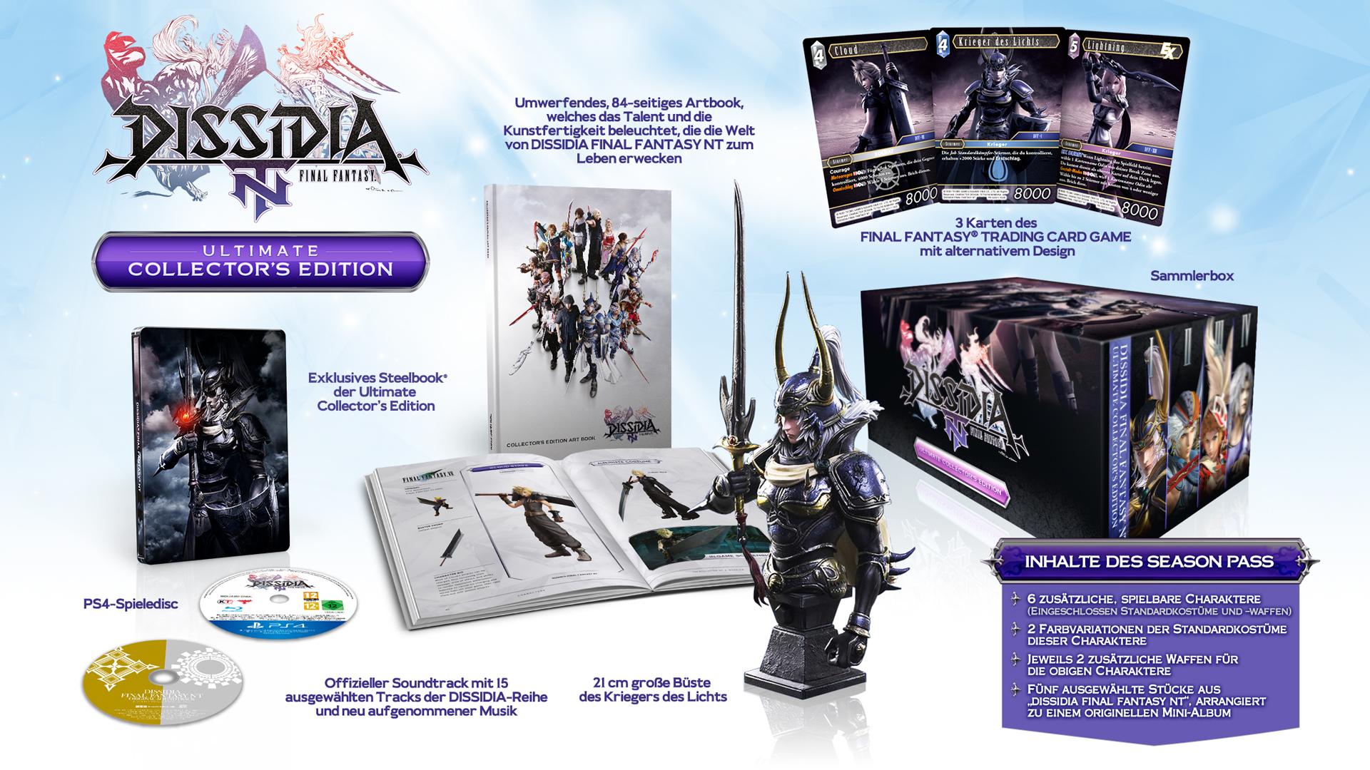 Final Fantasy NT edicción coleccionista