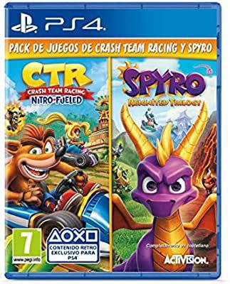 Crash Team Racing Nitro Fueled + Spyro Reignited Trilogy bundle PS4
