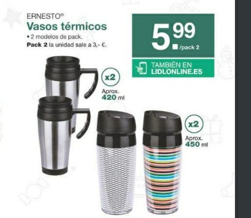 2 Termos de vaso (Lidl Andalucia)