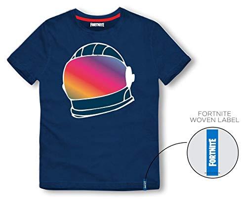 Camiseta Fortnite Helmet Blue - Talla XL (Producto Plus)