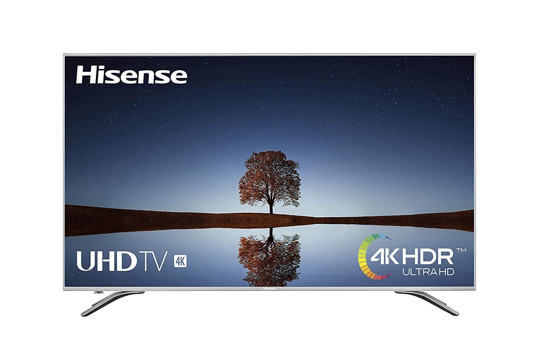 "Hisense H65A6500 - TV Hisense 65"" 4K Ultra HD, HDR, Precision Color, Super Contraste, Remote now, Smart TV VIDAA U, Diseño Metálico."