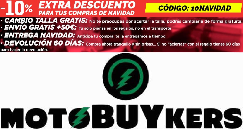 -10% descuento en todo Motobuykers