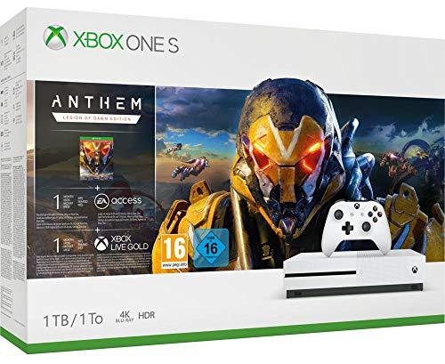 Microsoft Xbox One S - Consola 1 TB + Anthem: Legión Del Alba - Edición Especial