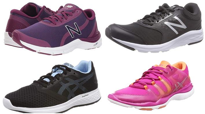 Multichollo por menos 32€ zapatillas Asics y New Balance para mujer