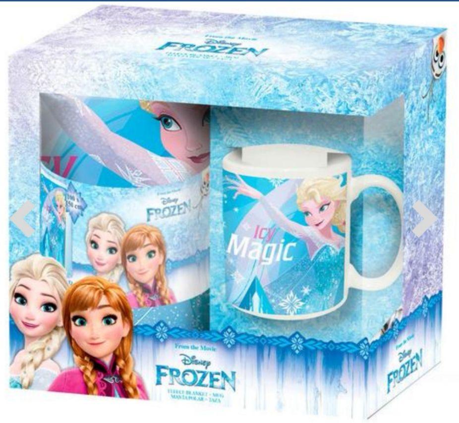 Frozen - Set de Manta y Taza. Envío gratis recogida en tienda.