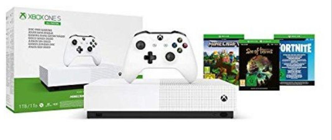 Xbox One One Digital 1T All Digital+3 Juegos