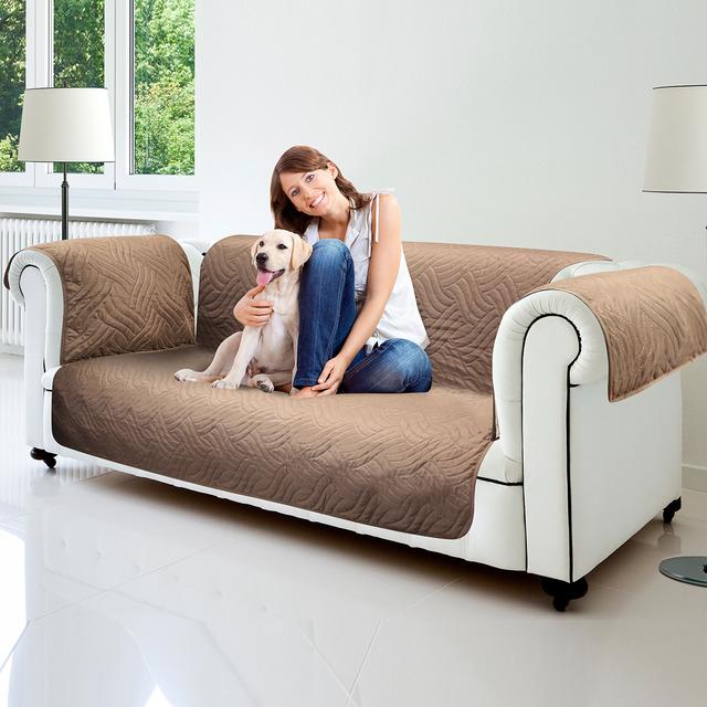 Funda reversible para proteger tu sofá