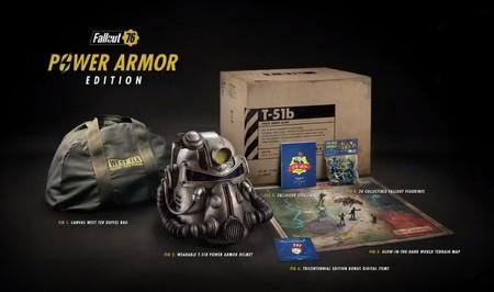 Edicion coleccionista Fallout Power Armor (ps4) fallout 76