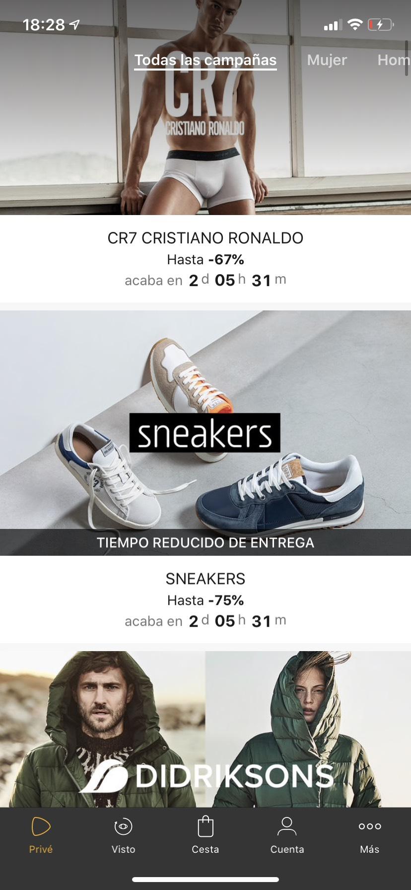 Hasta 75% en sneakers Zalando Privé