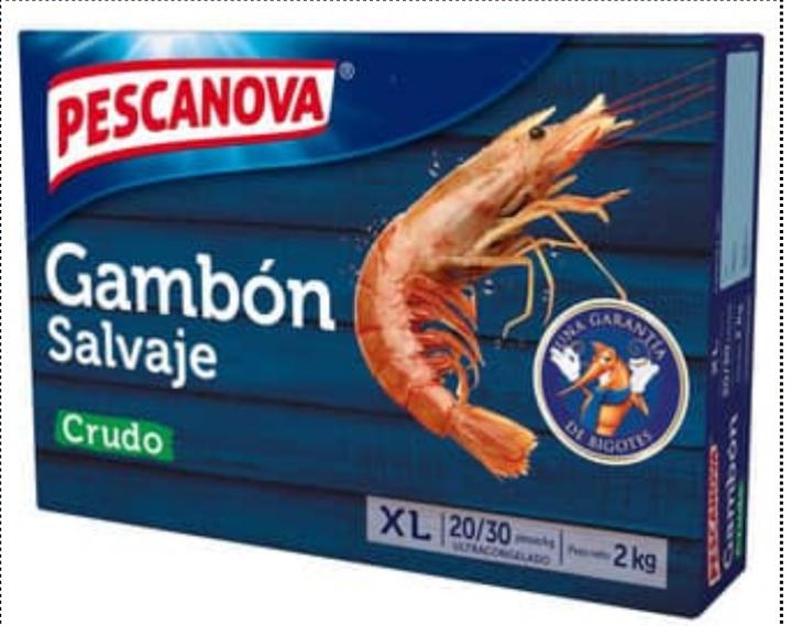 Gambón Pescanova 2kg
