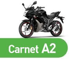 Carnet de moto A2 en Almería (Matrícula y clases pero sin derecho a examen)
