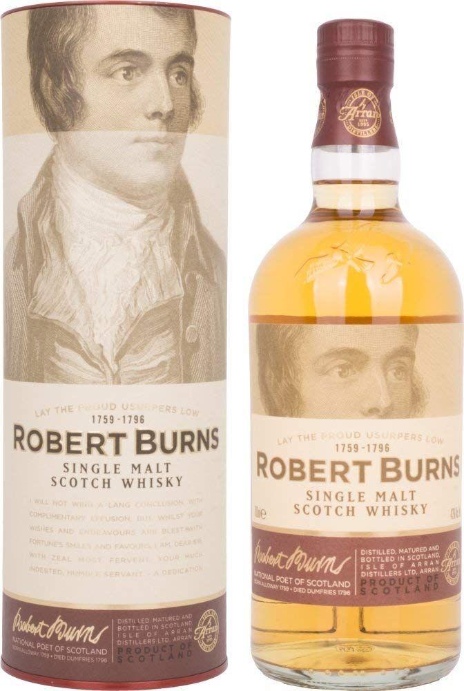 Whisky Robert Burns Single Malt Scotch - 700 ml.