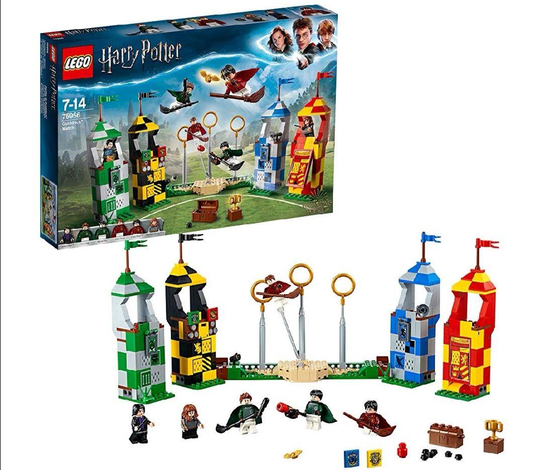 Lego Harry Potter, Partido De QUIDDITCH. (((() AÑÁDELO A LA CESTA Y AL TRAMITAR LA COMPRA TE DESCUENTAN 10.87€)))))