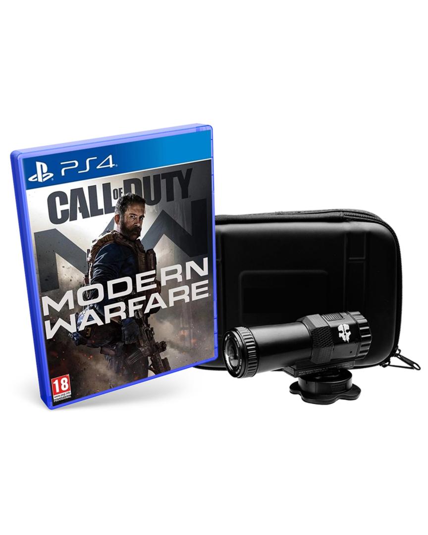 Modern Warfare + Cámara Táctica Full HD + DLC BO4 - Ps4 y Xbox One