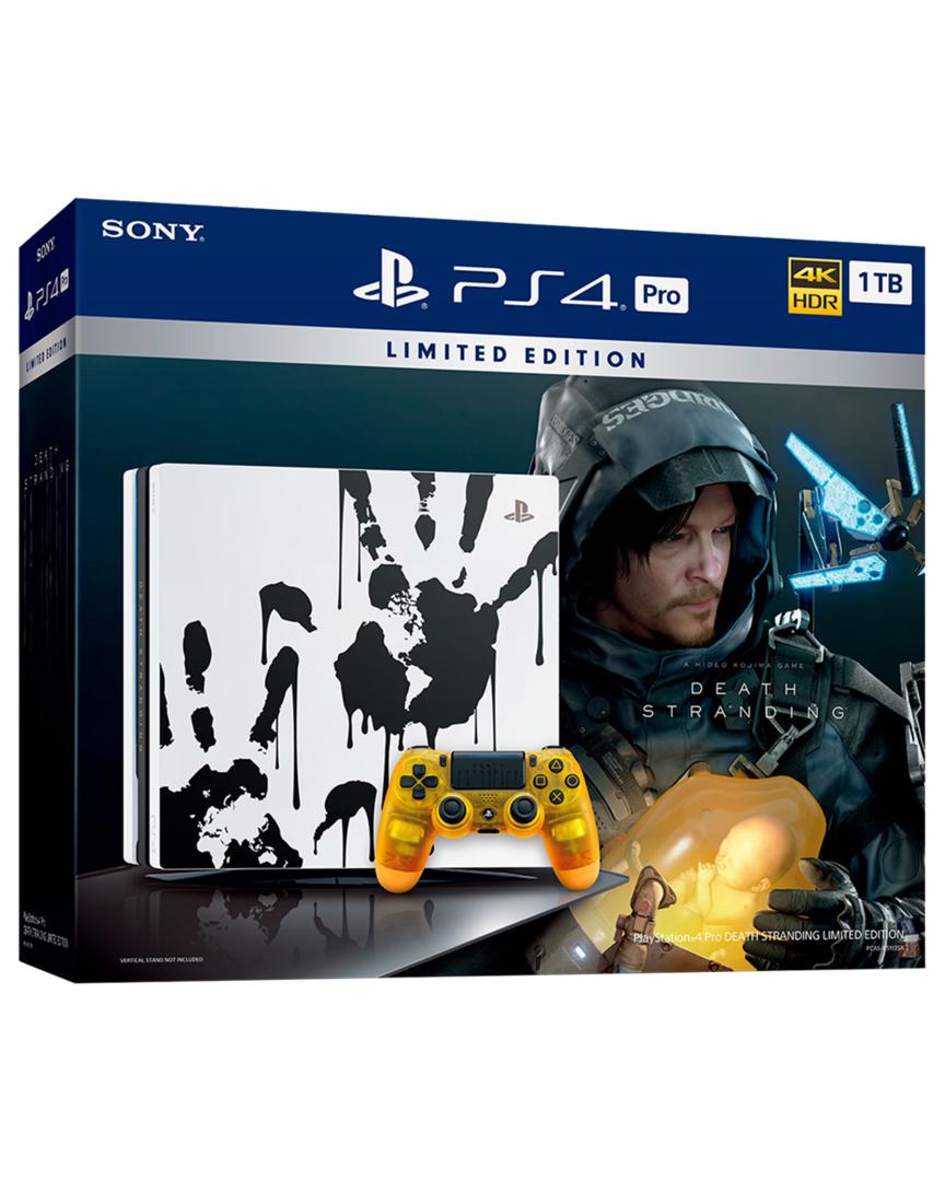 PS4 Consola Pro 1TB + Death Stranding Edición Limitada