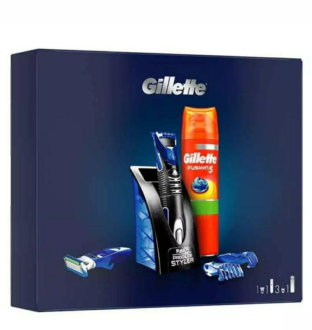 Formato REGALO: Gillette Styler Multiusos + Gel De Afeitado Gillette Fusion 5 + 3Peines