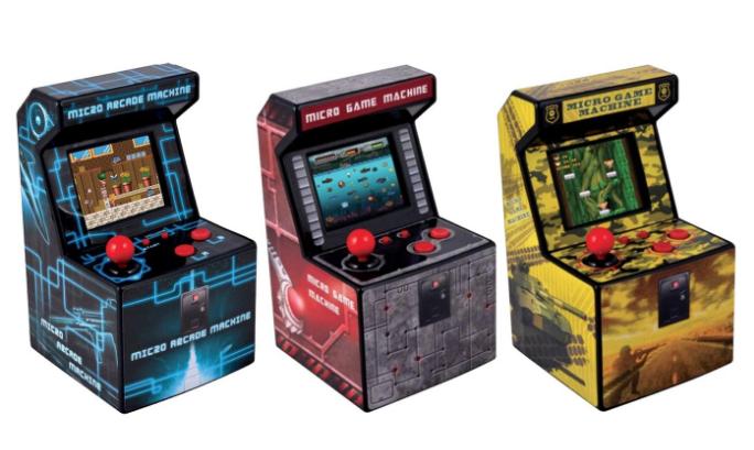 Consola recreativa micro arcade con 240 juegos GROUPON