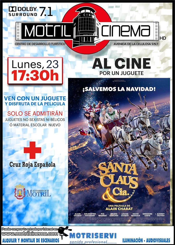 Ven al cine por un juguete (Motril-Granada)