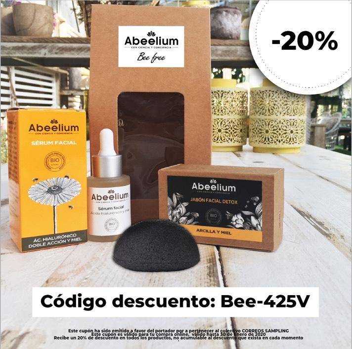 20% en productos de cosmética