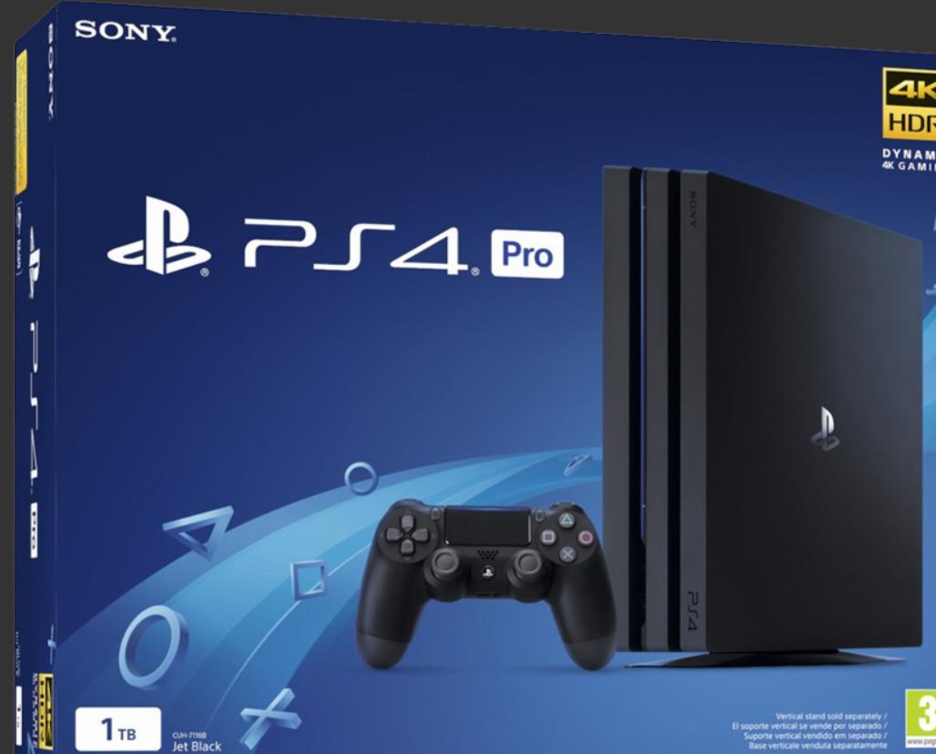 PS4 Pro Chasis Gamma