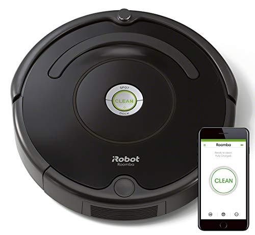 iRobot Roomba 671 - Robot aspirador con tecnología Dirt Detect, limpieza en 3 fases, programable por app, compatible con Alexa
