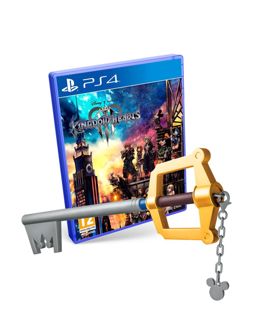Kingdom Hearts 3 + Llave Espada Tamaño real - Ps4 & Xbox One