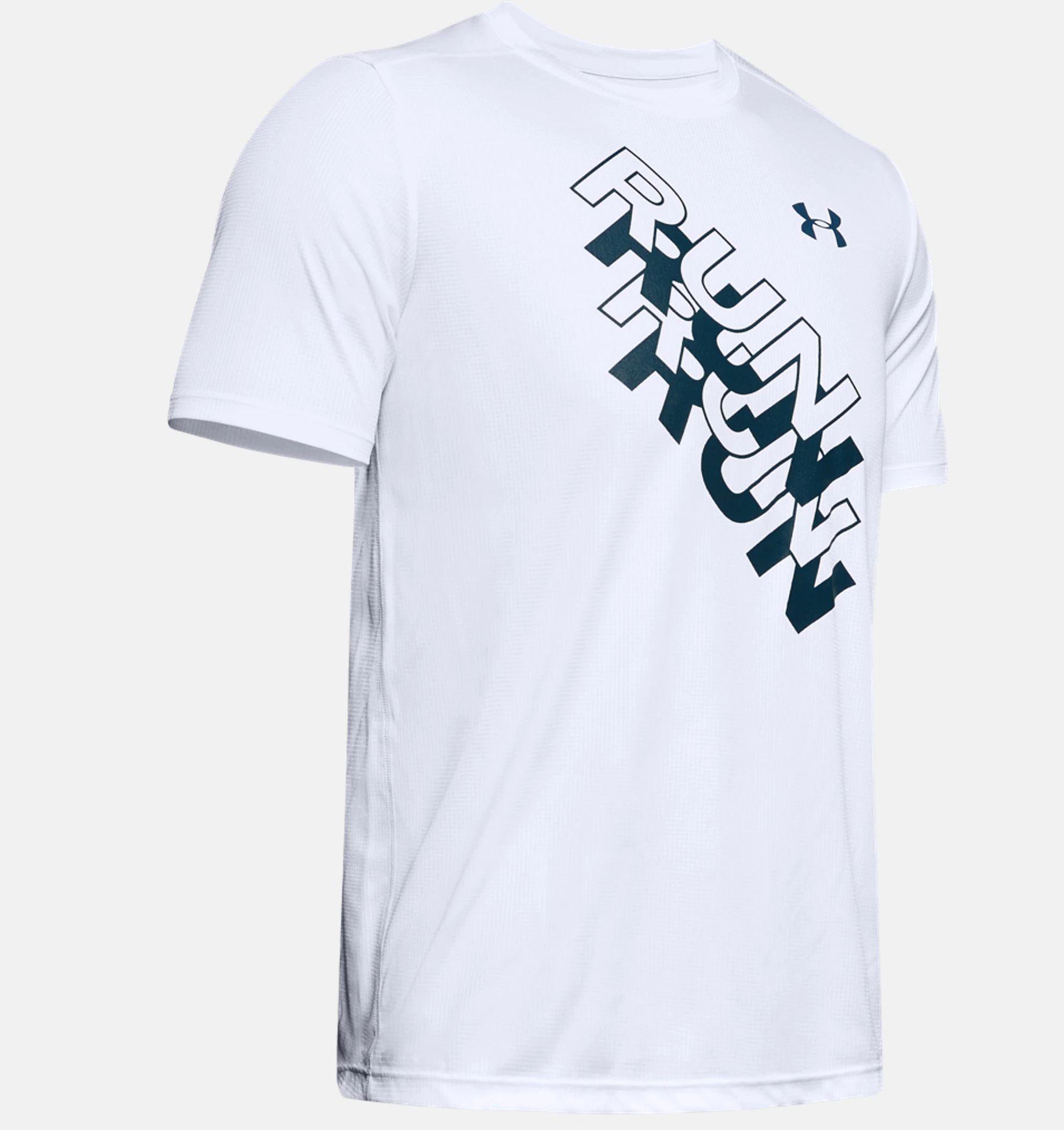 Camiseta UA International Run Day GX para hombre