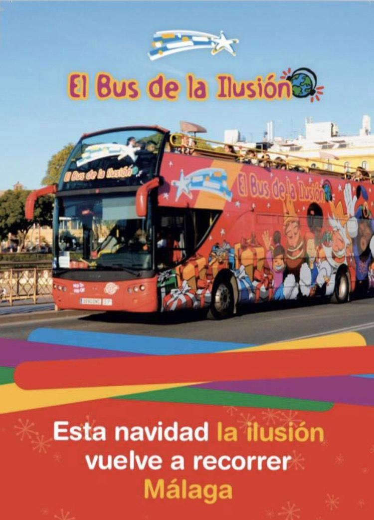 Recorre Malaga en bus turístico por 3€ o un juguete nuevo
