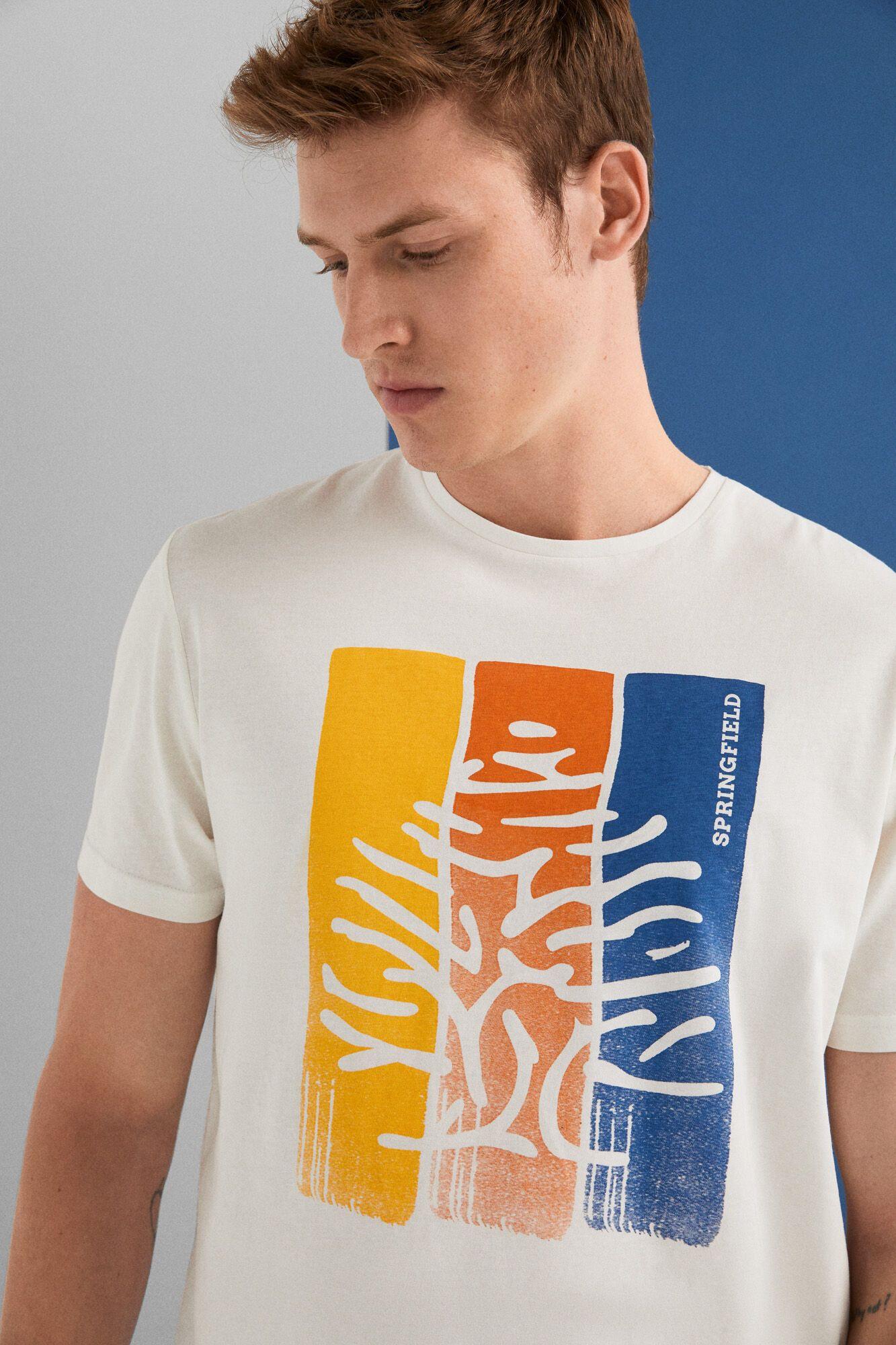 Camiseta Springfield talla L