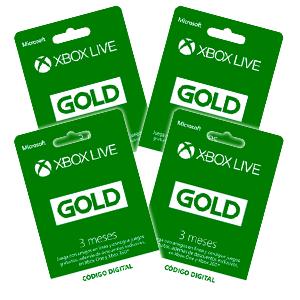 Xbox live gold 12 meses casi  al 50 % del precio habitual
