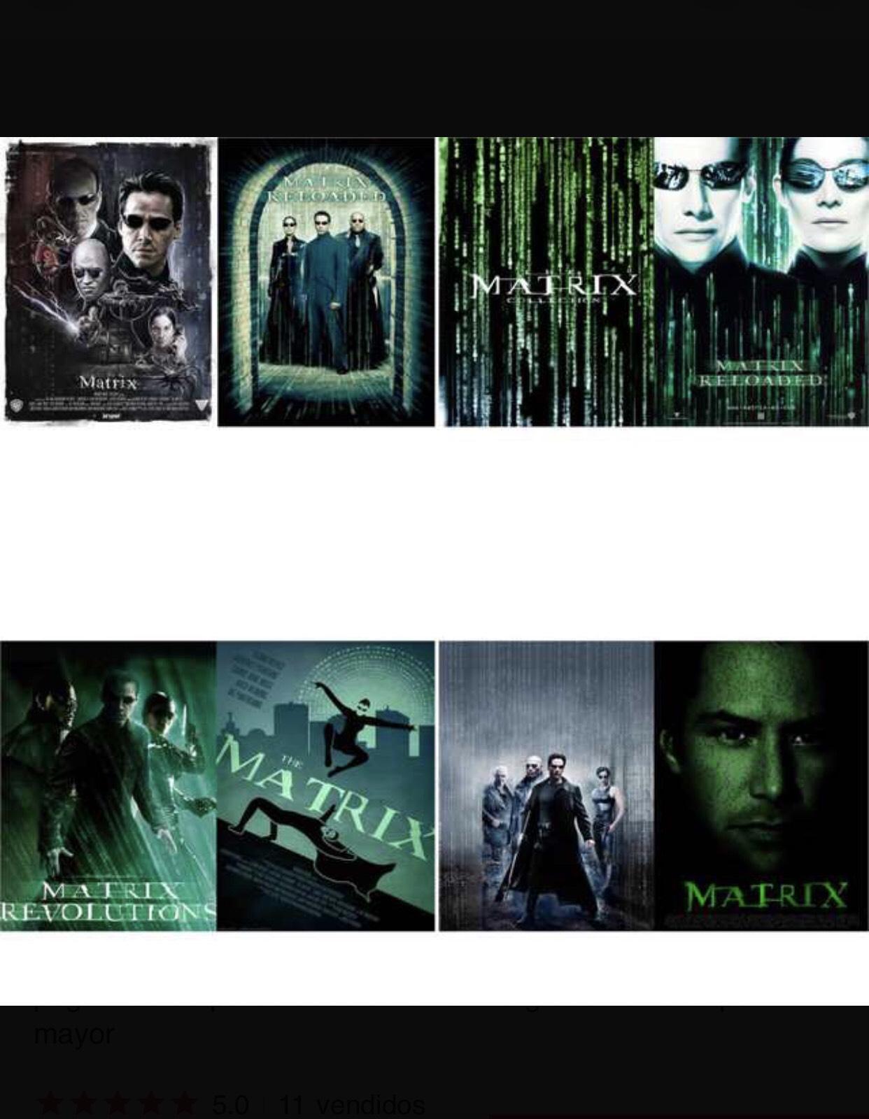 Posters Matrix baratos - Papel Brillante