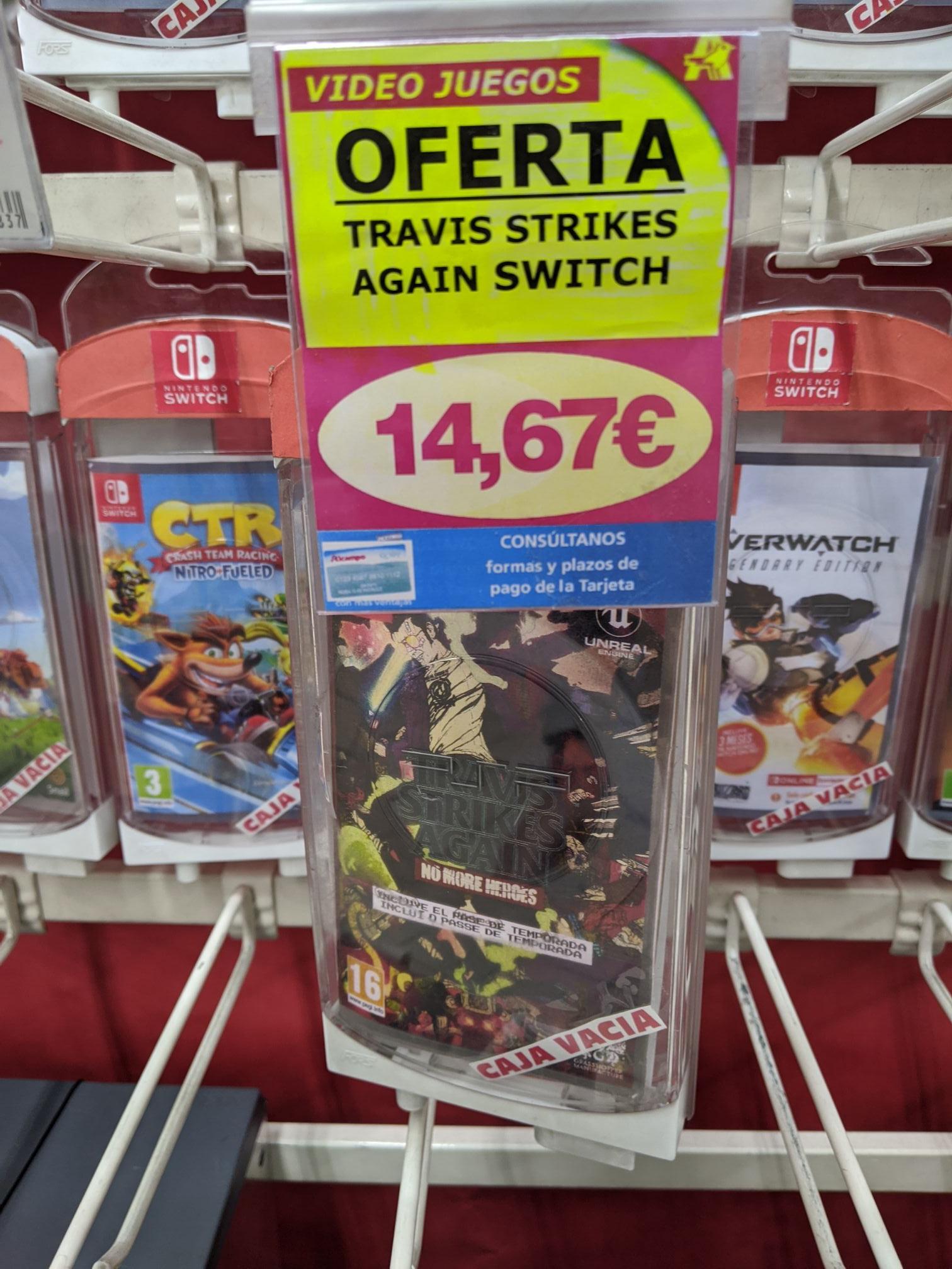 Nintendo Switch Travis Strikes Again - Alcampo La Vaguada