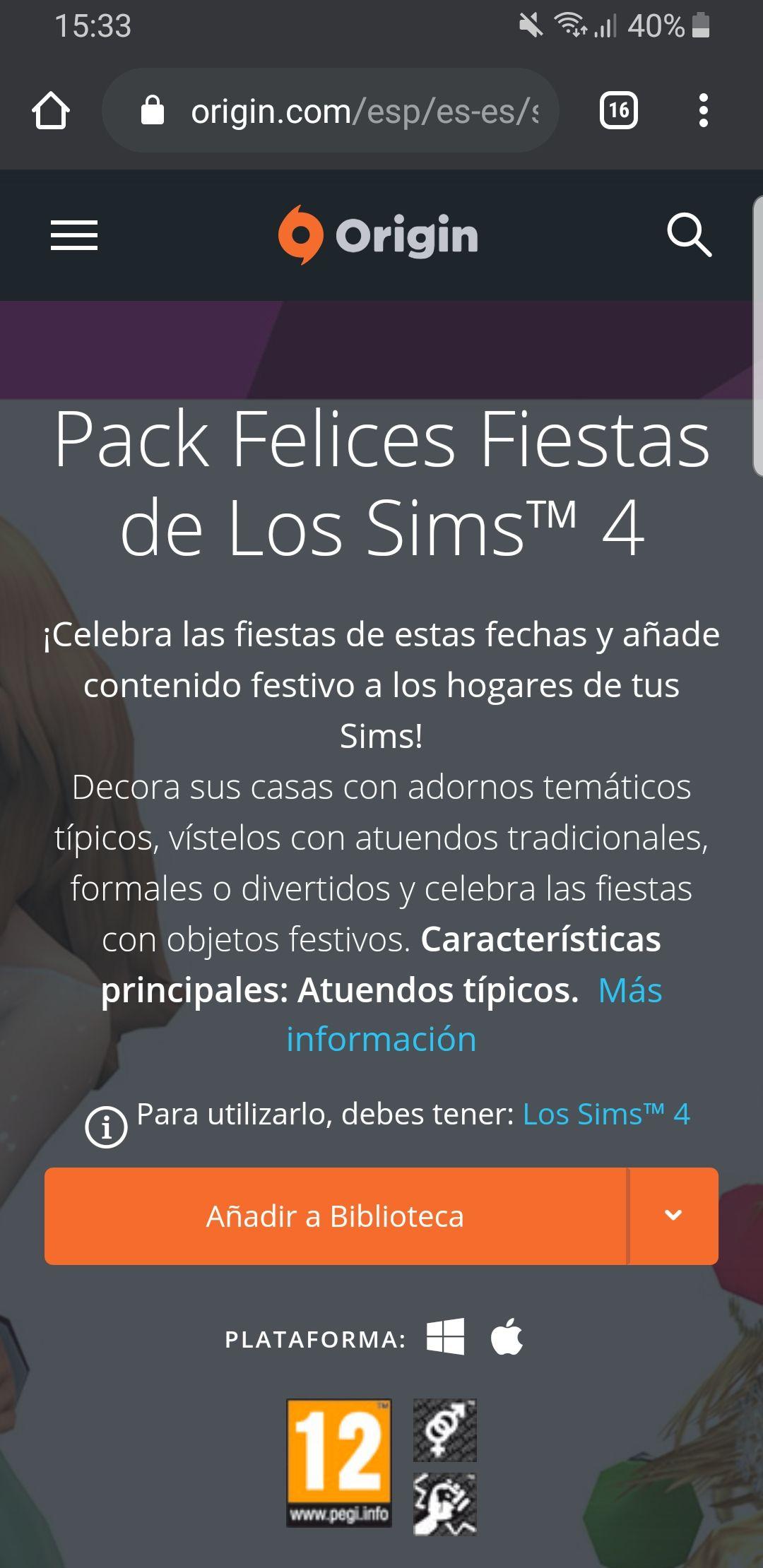 Pack felices fiestas los sims 4