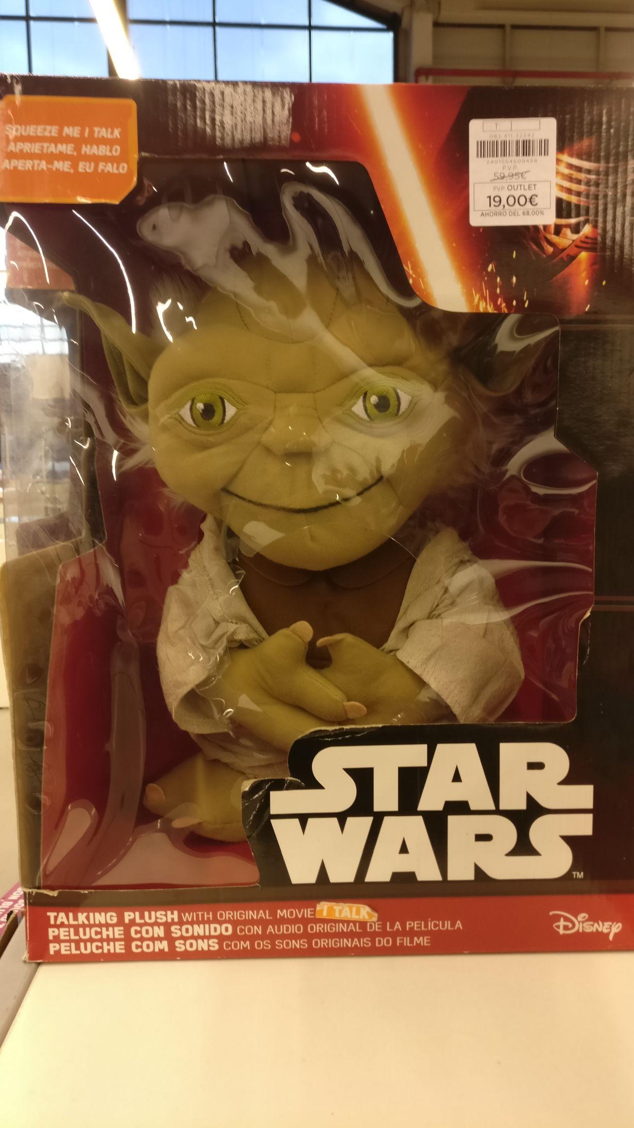 Star Wars. Talking Yoda (inglés). Centro oportunidades ECI Alcorcón