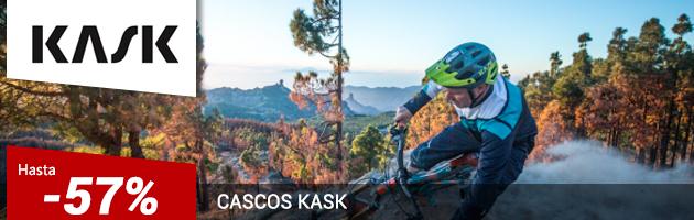 Cascos Ciclismo KASK con descuentos de Hasta 57%