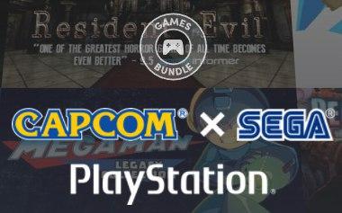 Humble Bundle CapcomxSEGA para Playstation